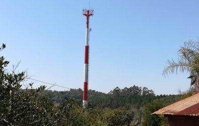 Personal instaló antena sin autorización y en tiempo récord