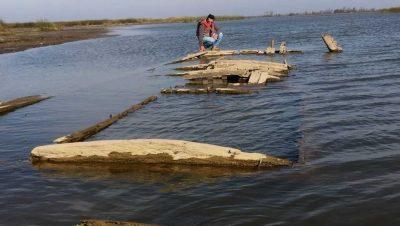 """Hallan barco """"fantasma"""" desaparecido hace casi 100 años en el Paraná"""