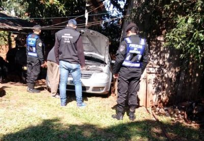 Recuperaron en Alem vehículo robado en Buenos Aires