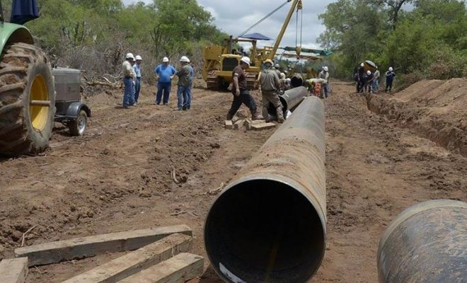 El gobierno decidió abandonar sin terminar el Gasoducto del NEA