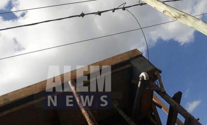 Un joven en grave estado por electrocución
