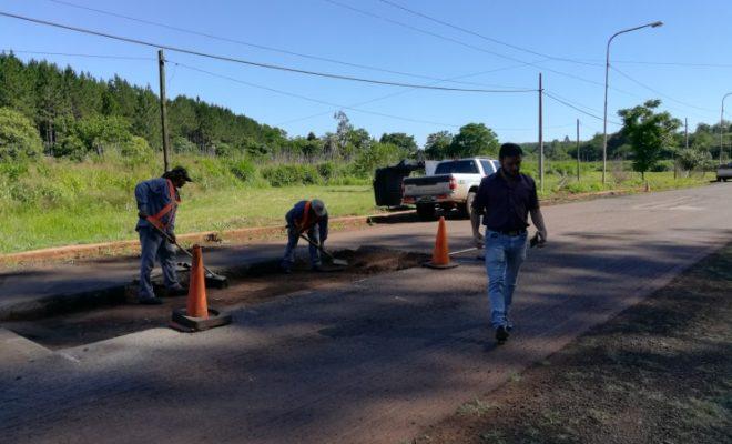 Comenzaron los trabajos de reasfaltado Ruta 225