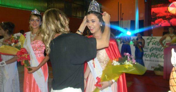 Mika Sosa es la primera Reina de la Fiesta Provincial de las Frutas Tropicales
