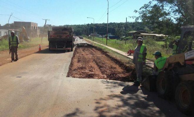 Robaron el material con el que estaban por construir puente a metros del Cámpora