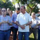 """Escandaloso: Pires presentó en Alem como """"Constructor"""" al director del Mercado Central"""