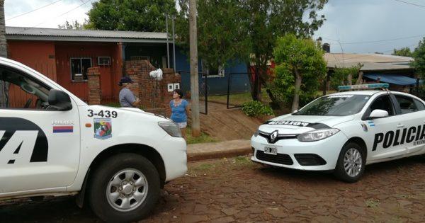 Policía asistió a abuelo en estado de abandono