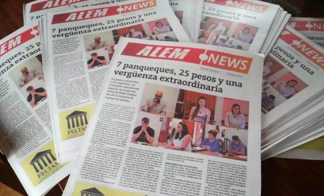 Alem News lanzó su edición impresa
