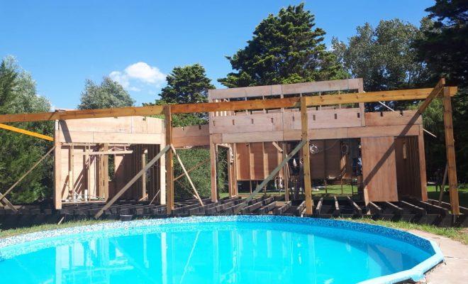 Profesional de Alem brindará especialización de construcción en madera en Buenos Aires