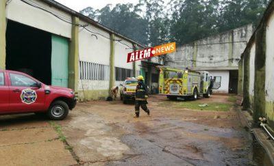 Principio de incendio en Cooperativa Picada Libertad