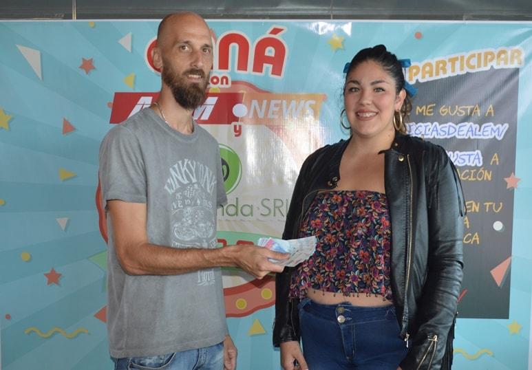 La Rotonda SRL y Alem News entregaron el premio del 2° Sorteo