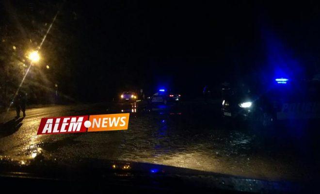 Peatón en grave estado al ser atropellado en el km 38