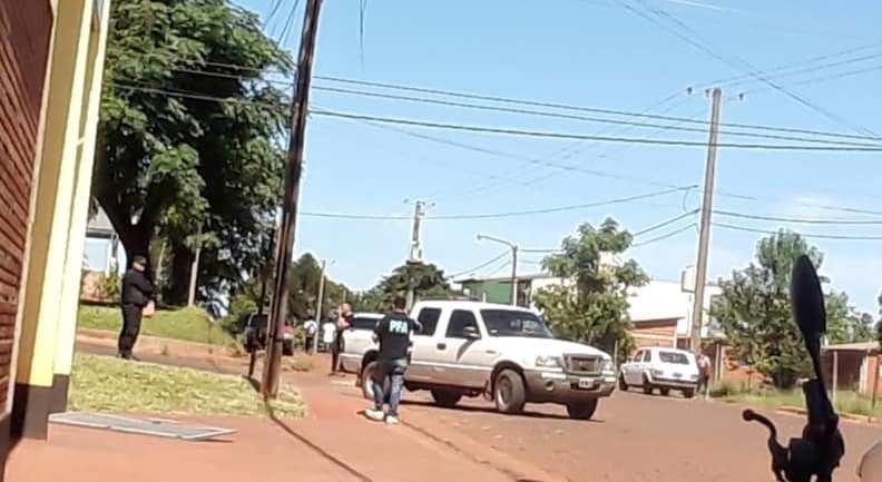Fallido allanamiento de la Policía Federal en nuestra ciudad,Zielke,Fabian,