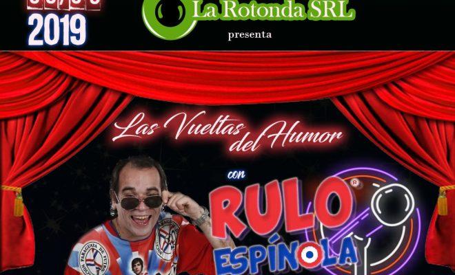 Rulo Espínola se presentará este 8 de marzo en la Rotonda SRL