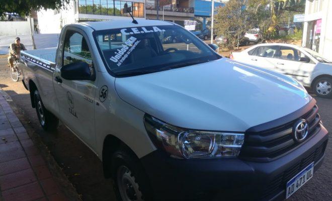 CELA adquirió nueva Camioneta con los ahorros de reparaciones de unidades anteriores