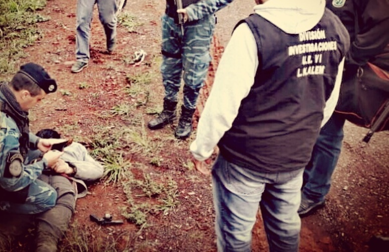 La Policía detuvo a un hombre armado en la localidad de Almafuerte