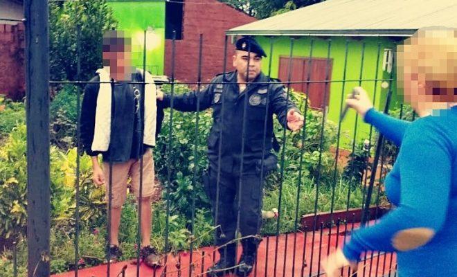 Sorprendieron a jovencito intentando robar en una casa