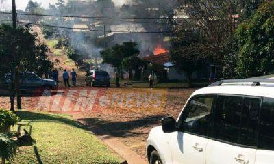 """#Urgente: """"Incendio en Barrio San Martín"""""""