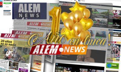 Alem News cumple su primer año en línea